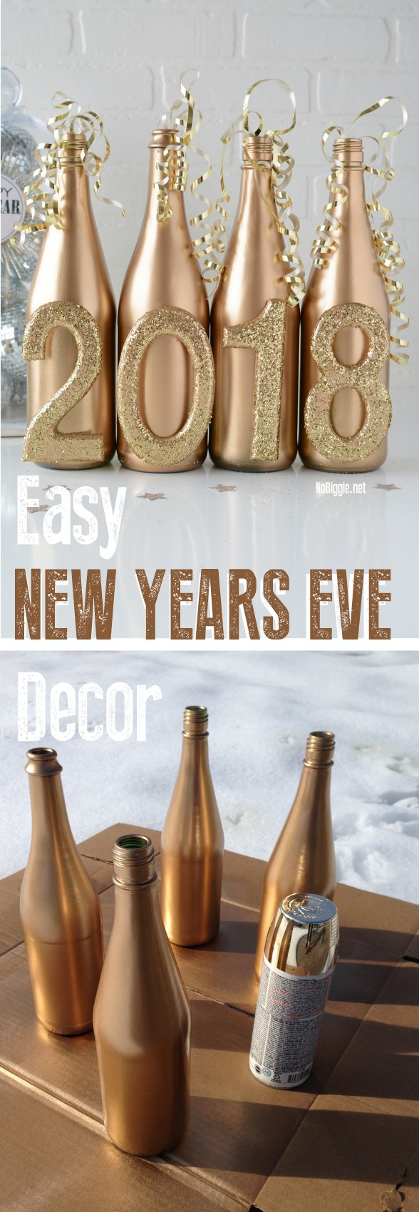New Year's Eve DIY Decor | NoBiggie