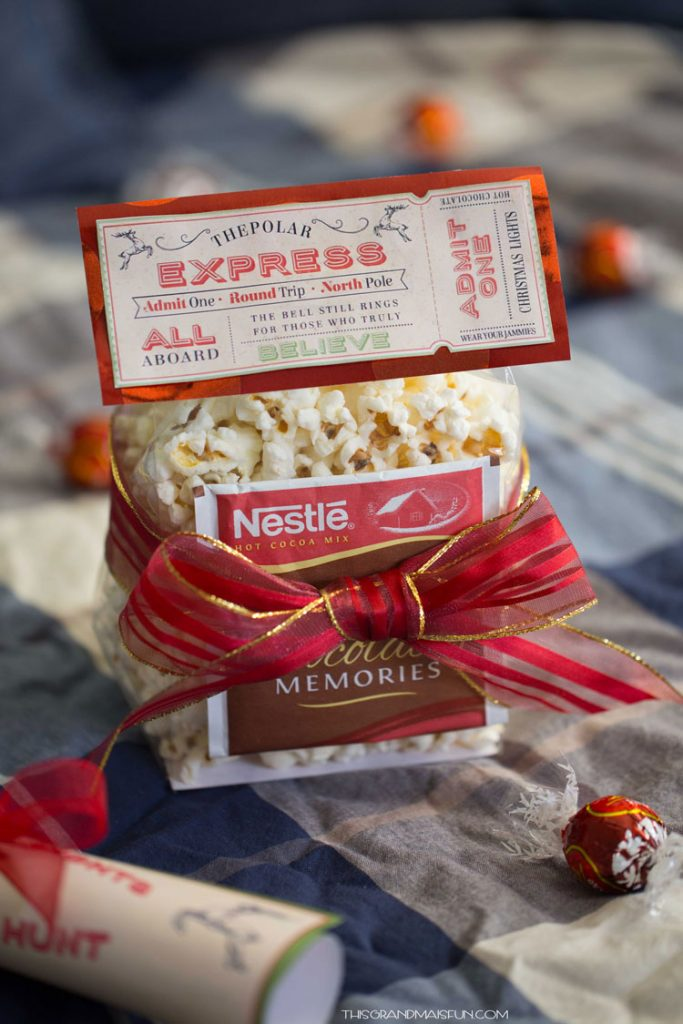 Polar Express Favor | 25+ Polar Express Party Ideas