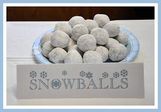 Snowballs | 25+ Polar Express Party Ideas