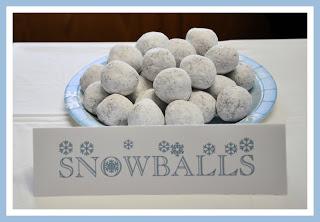 Snowballs | 25+ Polar Express Party Ideas