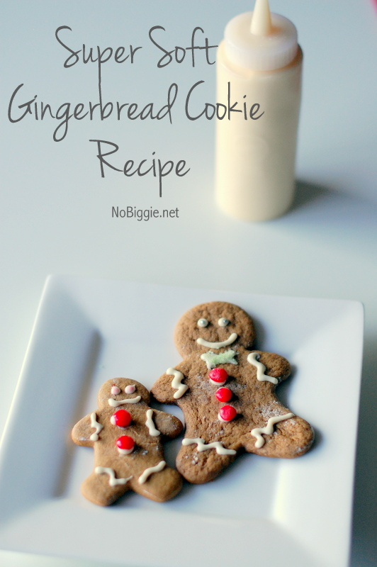 Super Soft Gingerbread Cookies | 25+ Edible Christmas Gifts