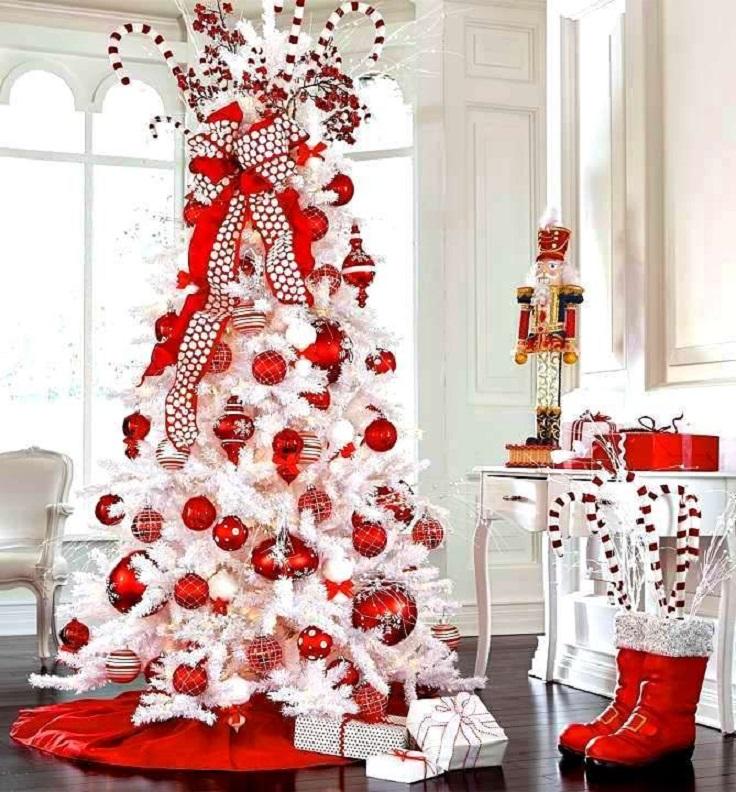 White Christmas Tre: 25+ Beautiful Christmas Trees