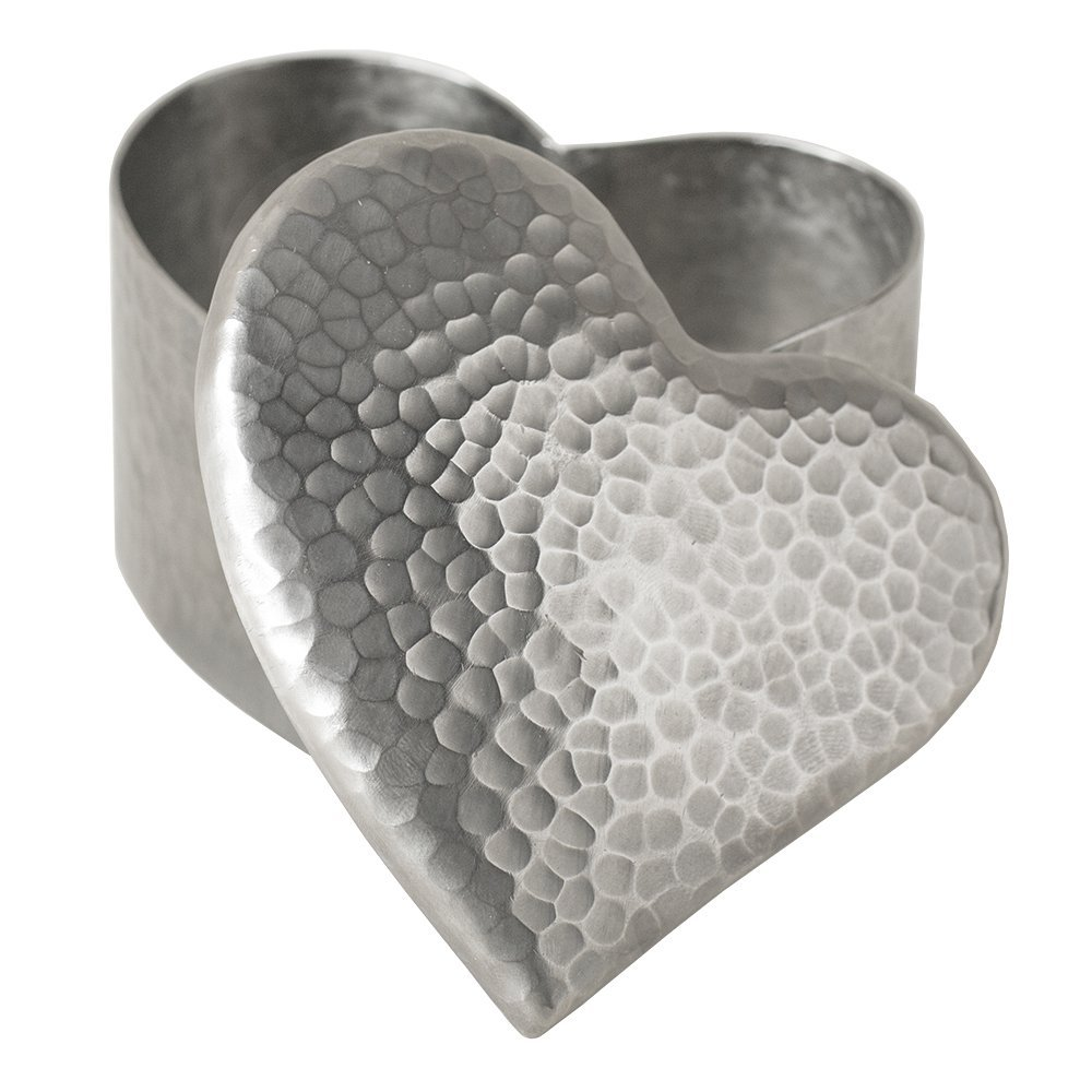 Native Trails Brushed Nickel Copper Heart Keepsake Box | 25+ Valentine's Day gifts for her