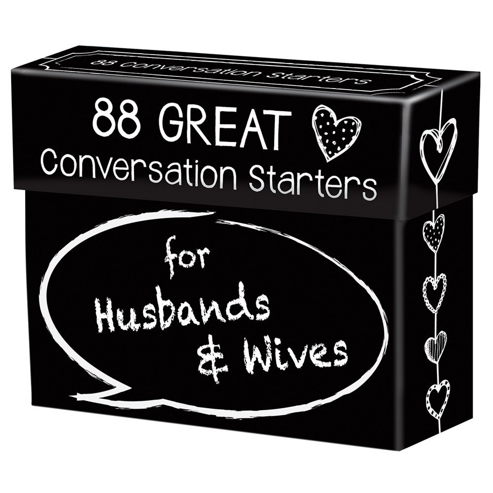 Conversation Starters for Husbands & Wives | 25+ Valentine's Day gifts for her