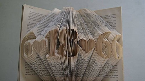 Folded Book Art | 25+ Valentine's Day gifts for her