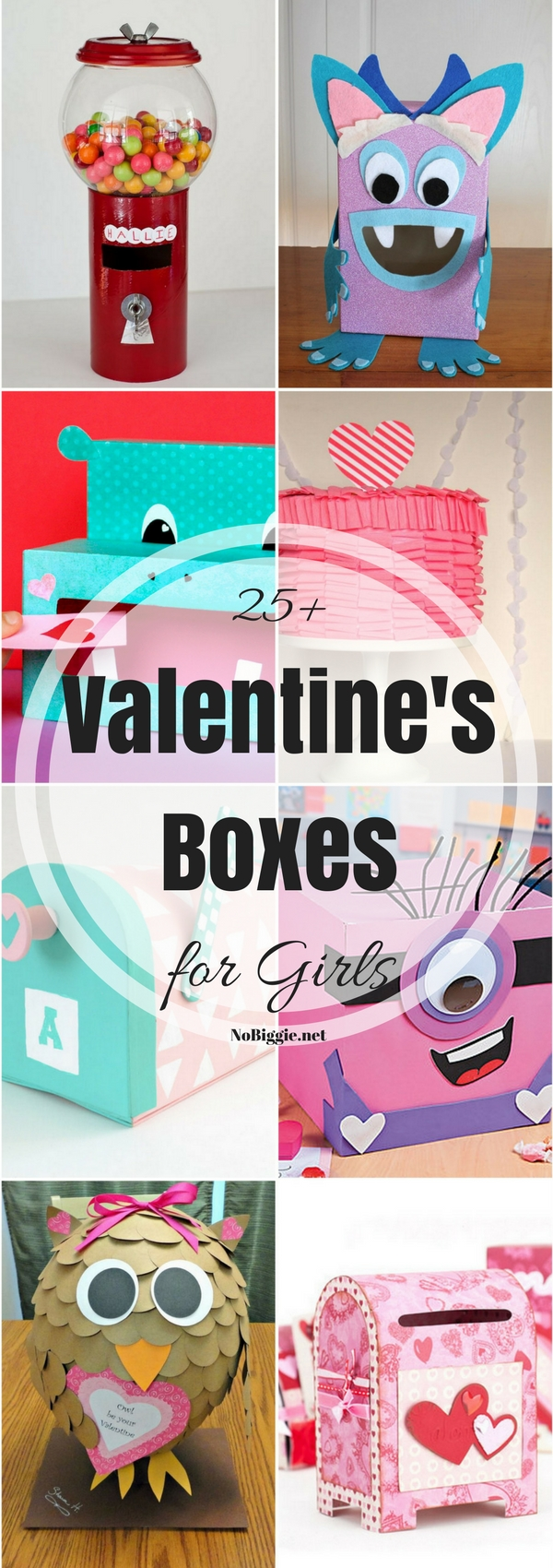 25+ Valentine Boxes for Girls | NoBiggie.net