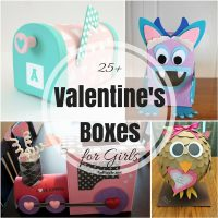 25+ Valentine Boxes for Girls