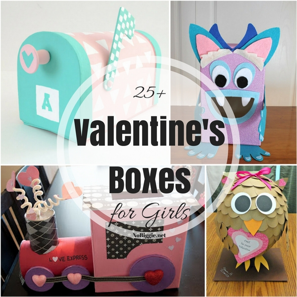 25 valentine boxes for girls nobiggienet - Valentine Boxes For Girls