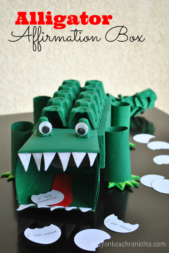 Alligator Box | 25+ Valentine Boxes for boys