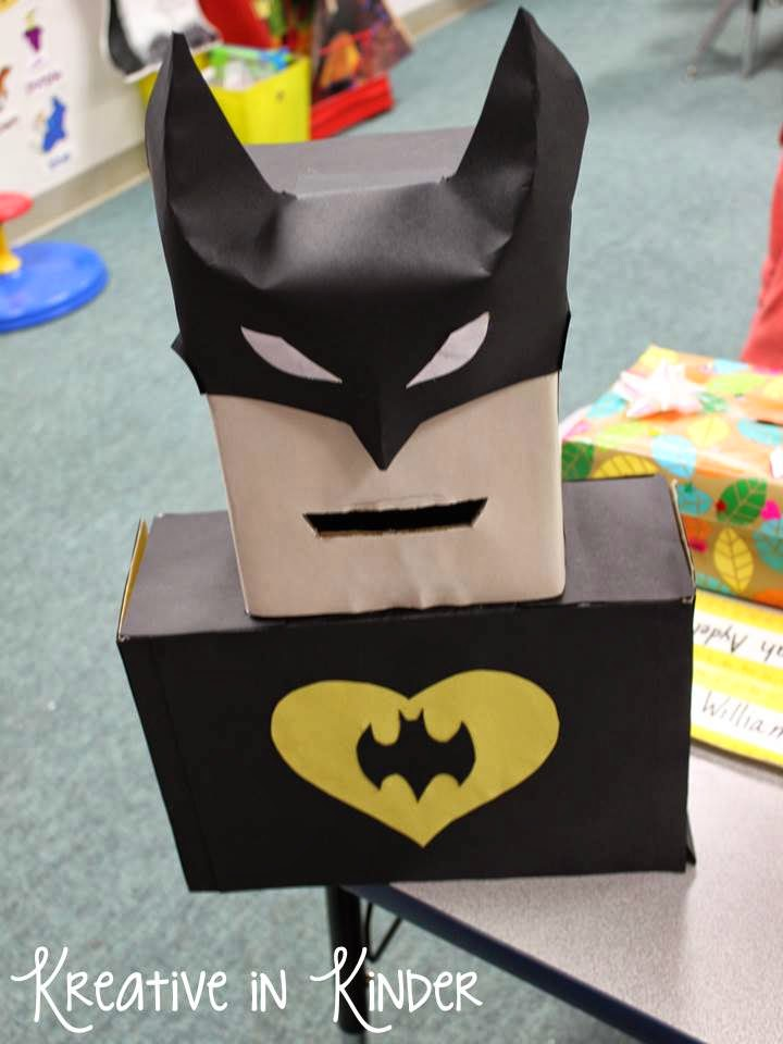Batman Box | 25+ Valentine Boxes for boys