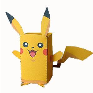 DIY Paper Box Pikachu | 25+ Valentine Boxes for boys