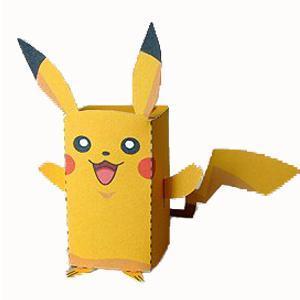 DIY Paper Box Pikachu | 25+ Valentine Boxes for boys