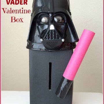 Darth Vader Valentine Box   25+ Valentine's Boxes for Boys