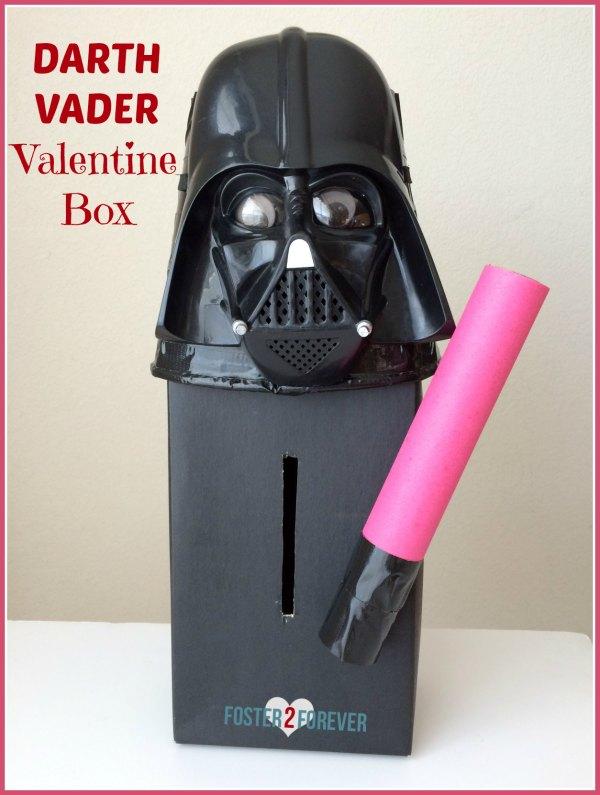 Darth Vader Valentine Box | 25+ Valentine Boxes for boys