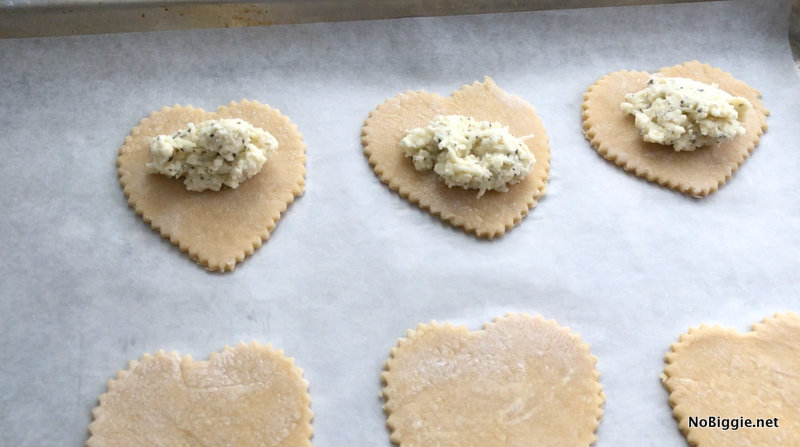 Homemade Four Cheese Ravioli Hearts | NoBiggie.net