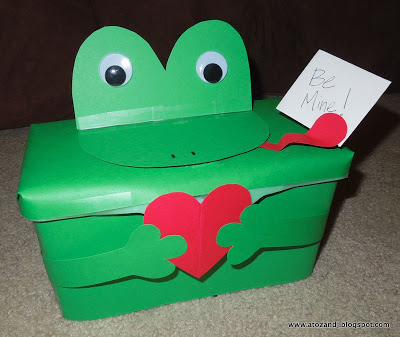 Froggy Valentine Box | 25+ Valentine Boxes for Girls