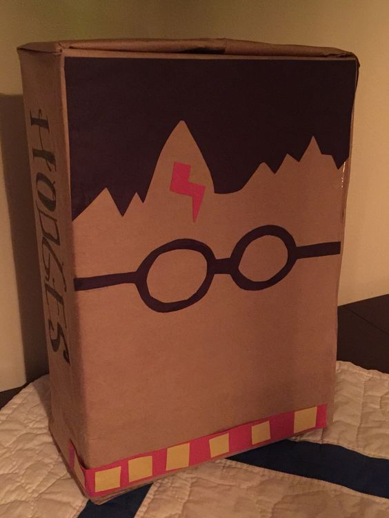 Harry Potter Box | 25+ Valentine Boxes for boys