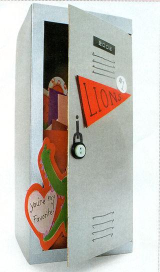Locker Box | 25+ Valentine Boxes for boys