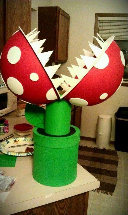 Mario Plant Valentine Box | 25+ Valentine Boxes for boys