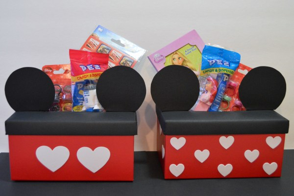 Mickey and Minnie Mouse Boxes | 25+ Valentine Boxes for boys