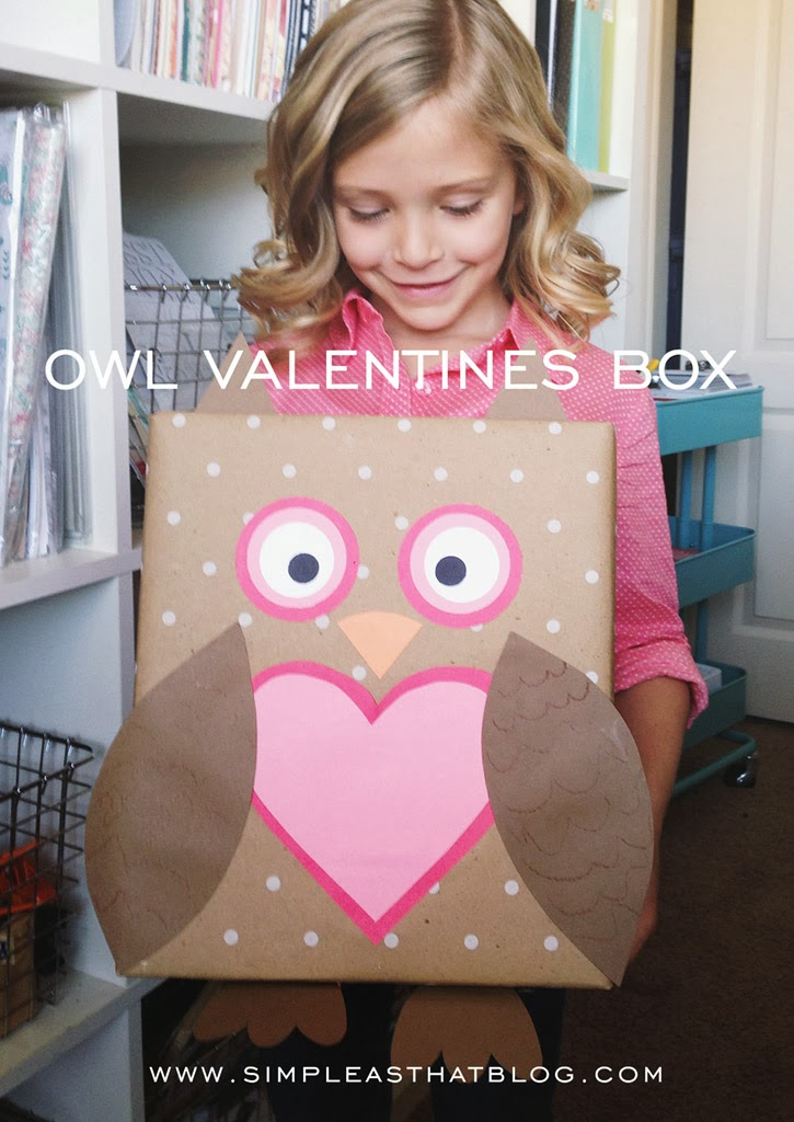 Owl Valentine Box | 25+ Valentine Boxes for Girls