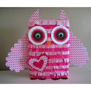 Owl | 25+ Valentine Boxes for Girls