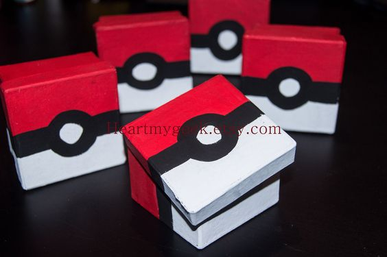 Pokebox | 25+ Valentine Boxes for boys