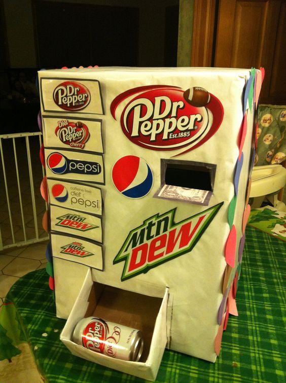 Pop Machine | 25+ Valentine Boxes for boys
