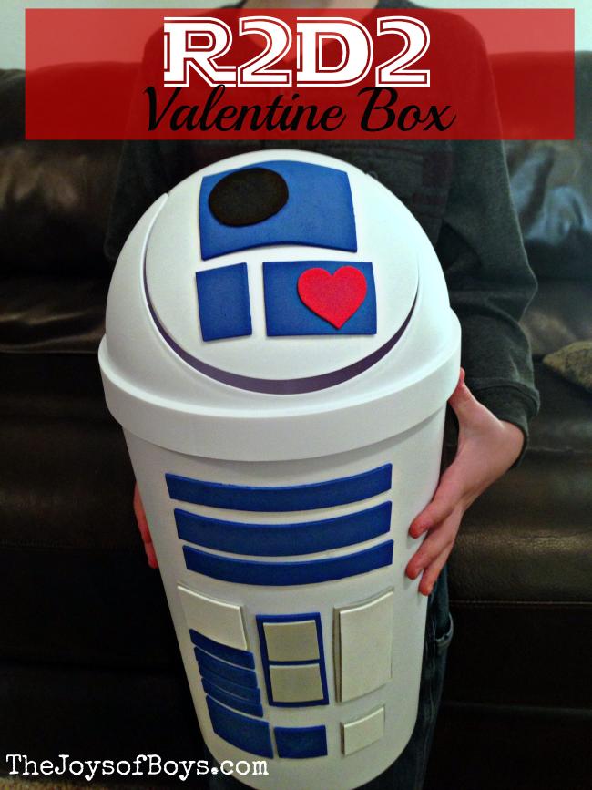 R2D2 Valentine Box | 25+ Valentine Boxes for boys
