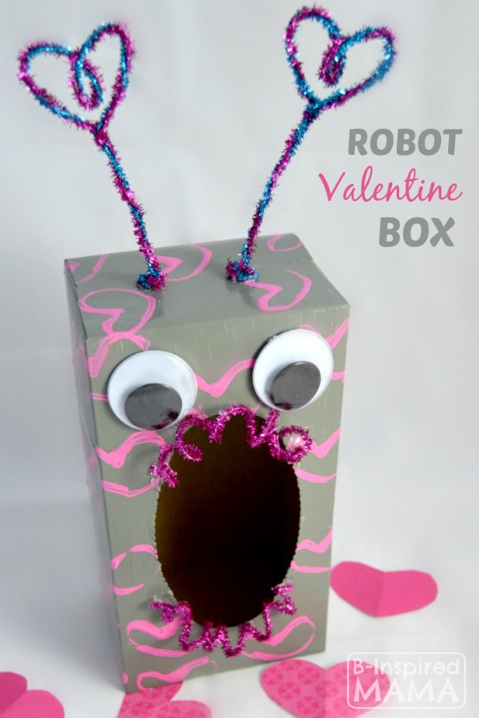 robot valentine box 25 valentine boxes for girls - Valentine Boxes For Girls