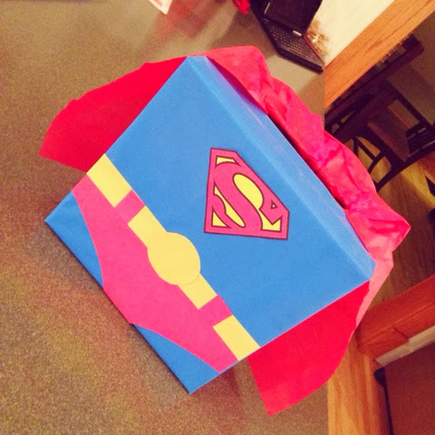 Superman Box | 25+ Valentine Boxes for boys
