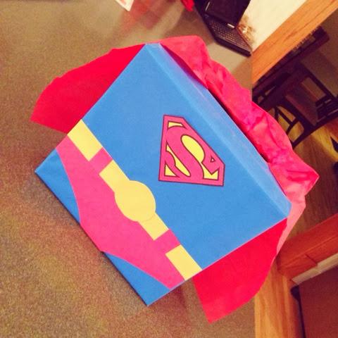 Superman Box | 25+ Valentine Boxes for boys