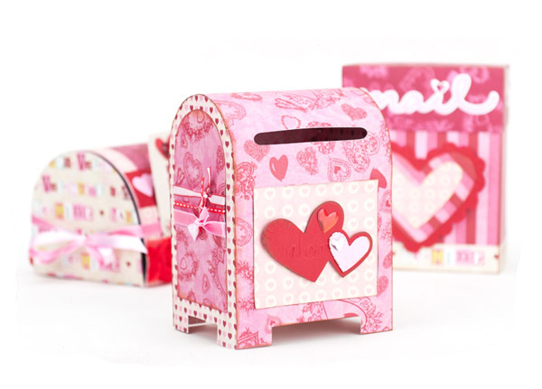 Valentine Mailboxes SVG Kit | 25+ Valentine Boxes for Girls