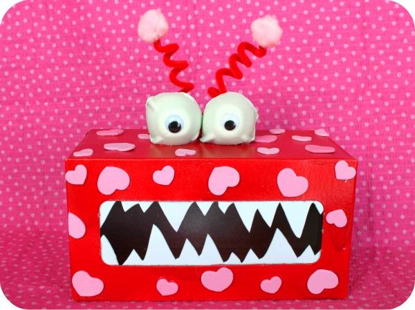 Valentine Monster | 25+ Valentine Boxes for boys