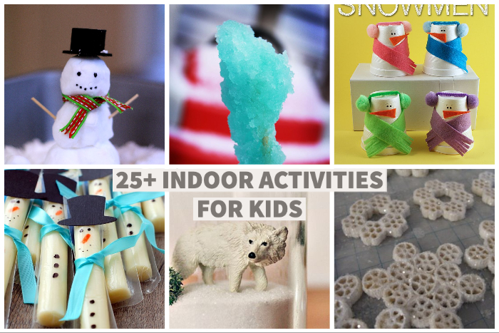 25+ indoor activities for kids | NoBiggie.net