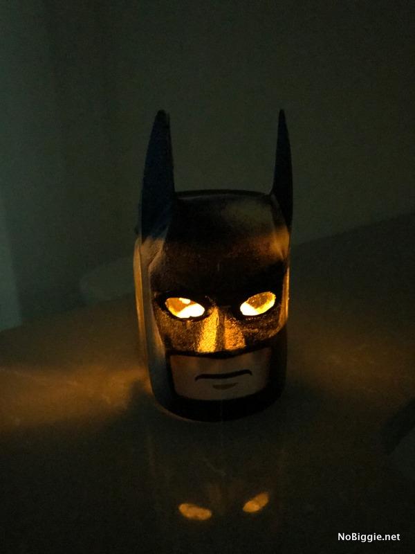DIY LEGO Batman night light | NoBiggie.net