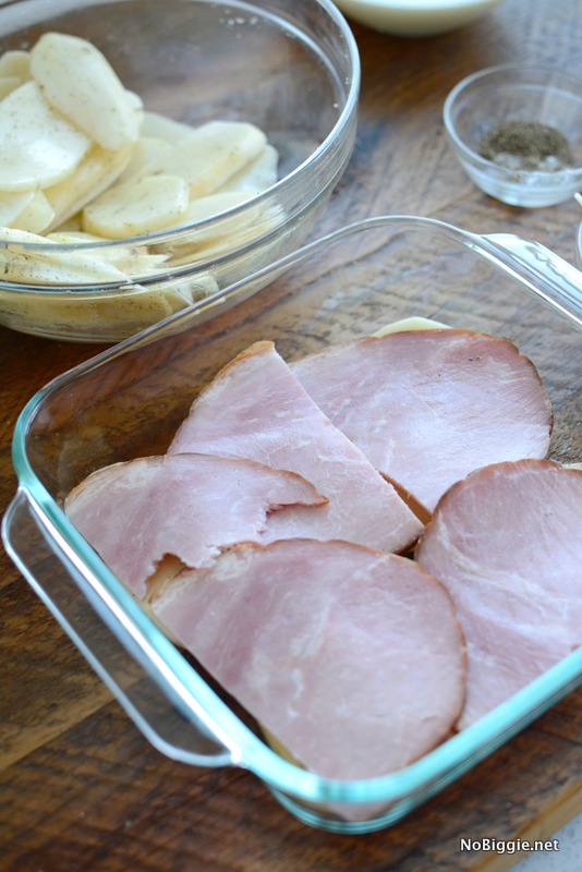 Scalloped Potatoes and Ham | NoBiggie.net