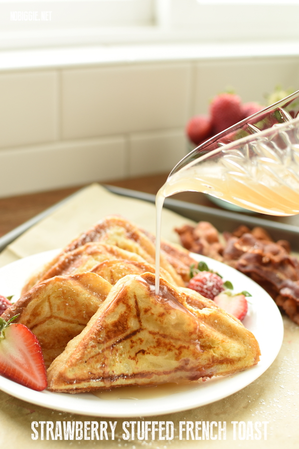 strawberry stuffed french toast | NoBiggie.net