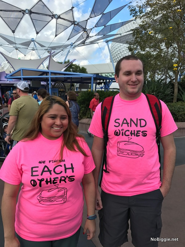 Disney his and hers shirts