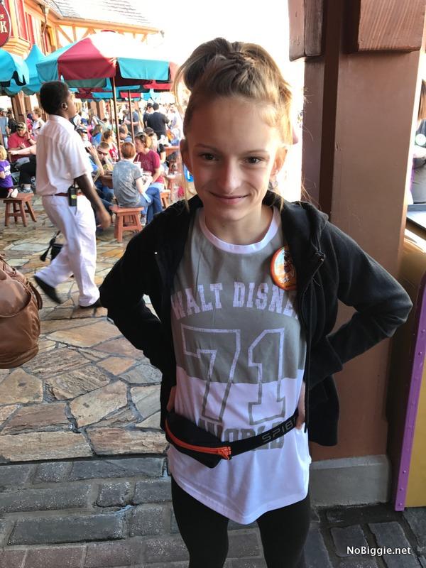 Fanny Pack at DisneyLand