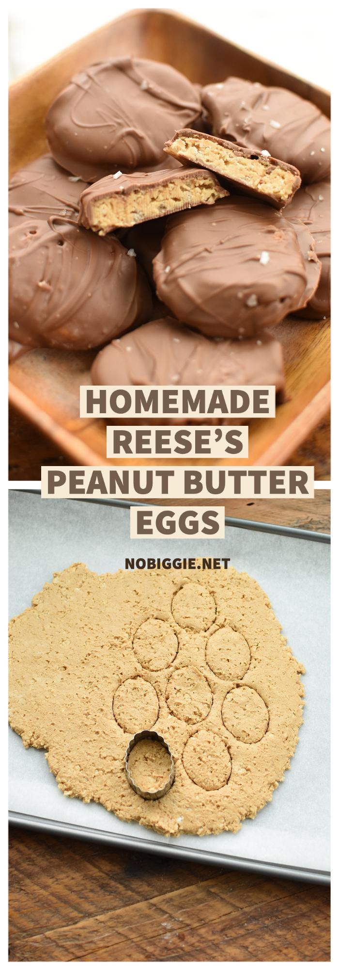 Homemade Reese's Eggs | NoBiggie.net