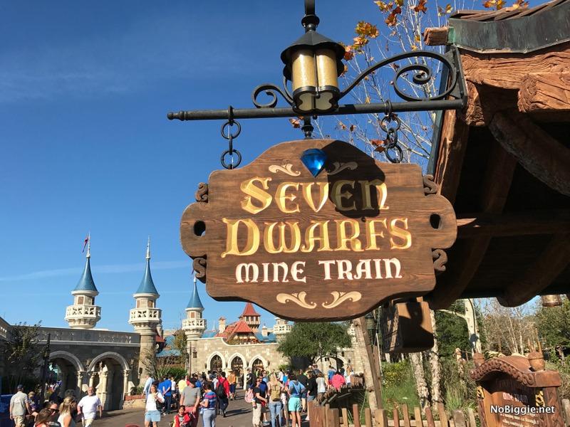 Seven Dwarf Mine Train