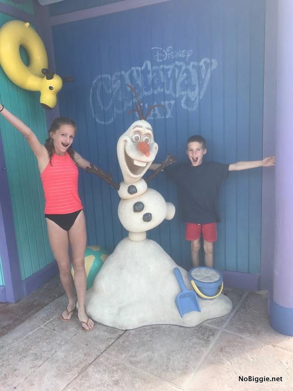Olaf on Castaway Cay