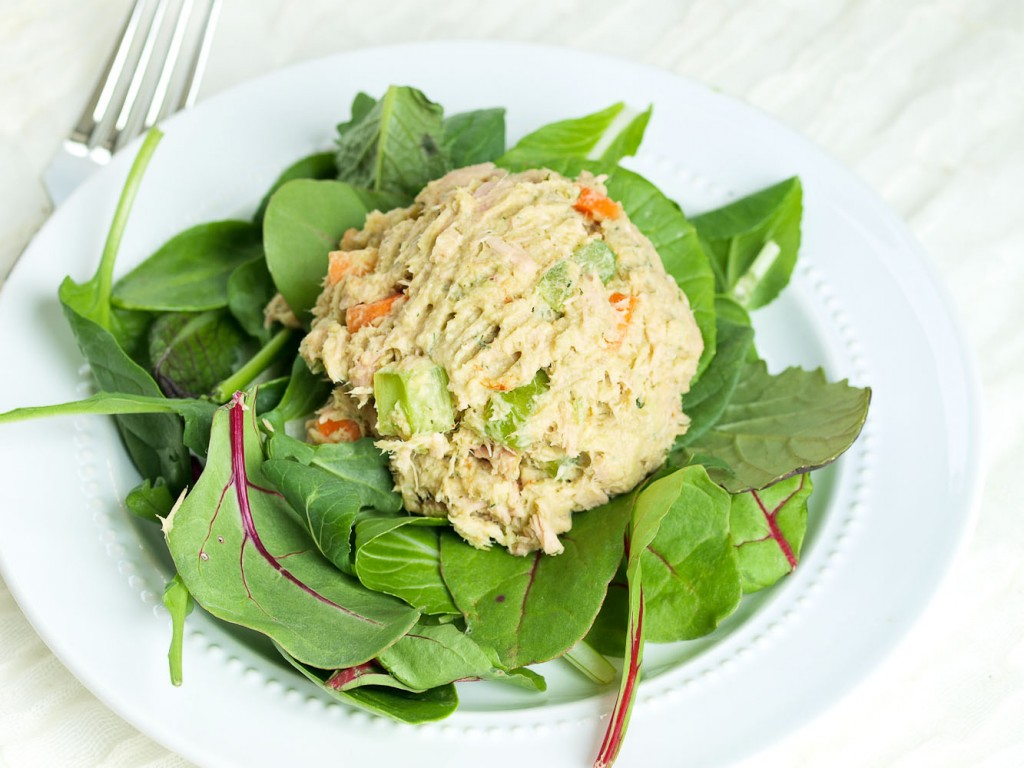 Avocado Tuna Salad  | 25+ High Protein Recipes