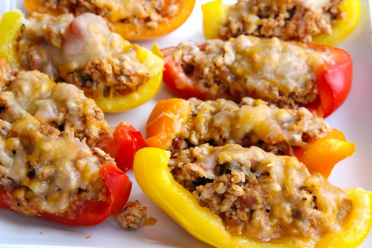 Bell Pepper Nacho Boats    25+ High Protein Recipes