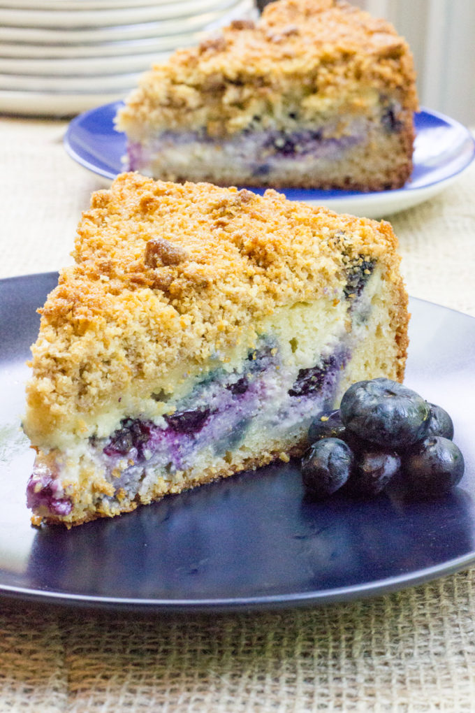 Blueberry Cream Cheese Coffee Cake | 25+ Cream Cheese Recipes