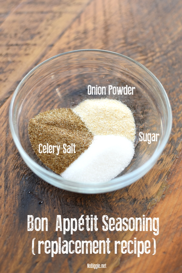 Bon Appetit Seasoning replacement