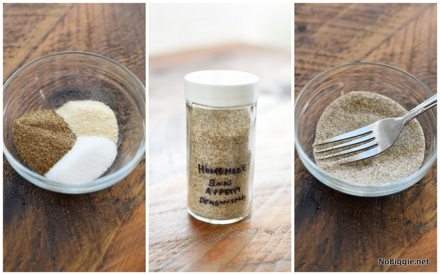 Bon Appetit seasoning replacement recipe