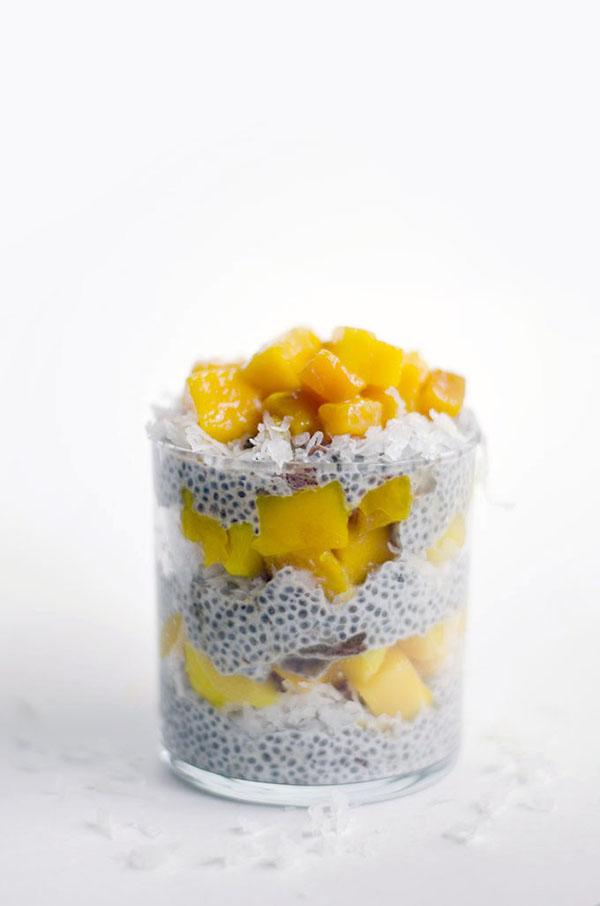Chia Tropical Parfait | 25+ Chia Seed Recipes