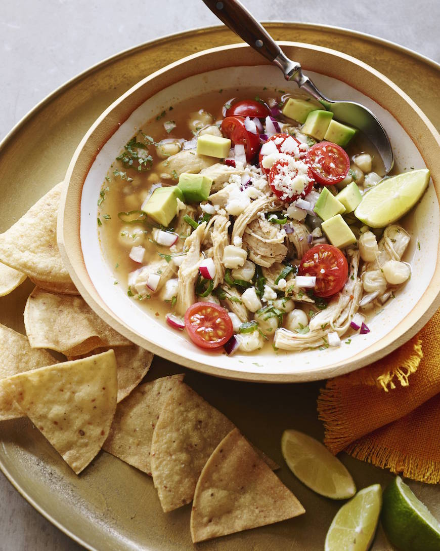 Chicken Posole  | 25+ High Protein Recipes